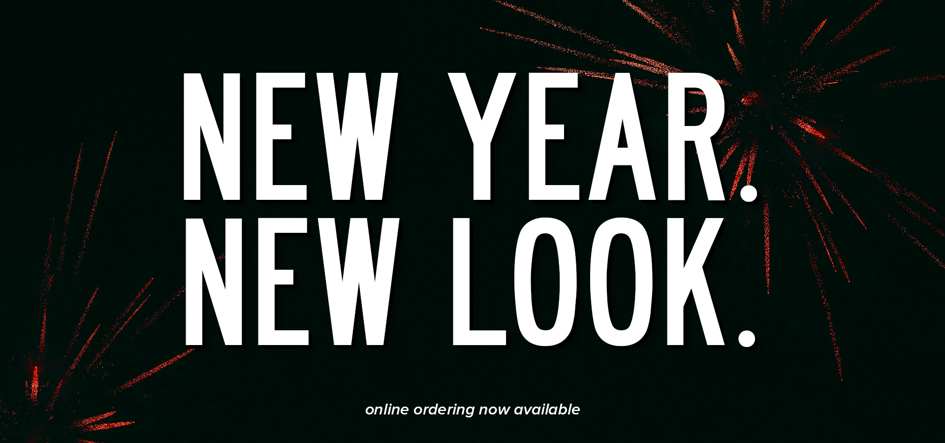 New Year, New Look. Shop online with The Worthy Dog